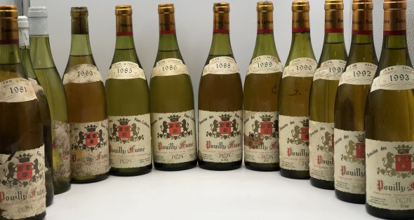 Pouilly Fume Domaine des Fines caillottes- Vertical Tasting Case 1978/79/81/83/85/86/88/89/90/91/92/93
