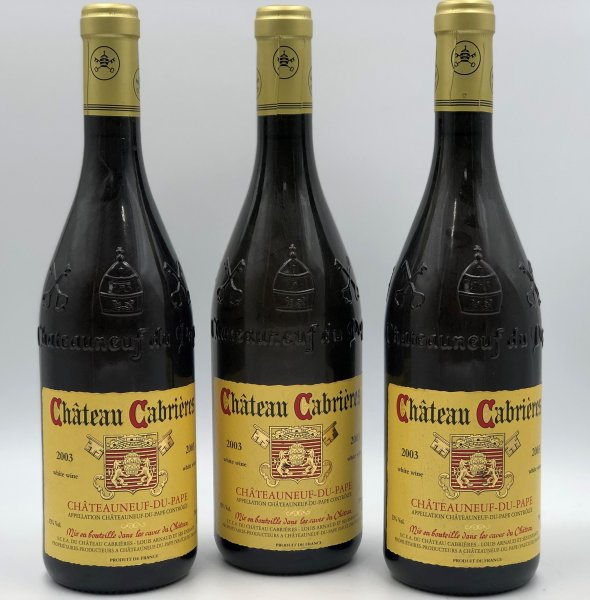 Chateau Cabrieres 2003 Chateauneuf-du-Pape BLANC
