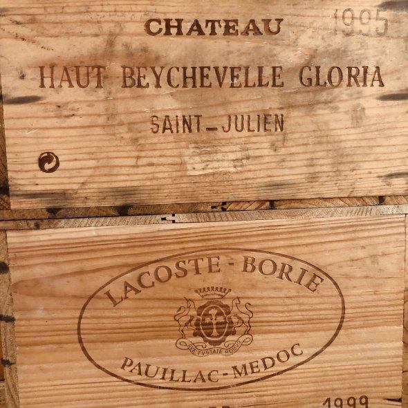 Chateau Haut Beychevelle Gloria 1995 Saint Julien