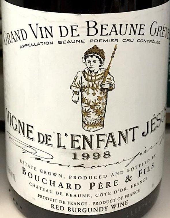 Bouchard Pere et Fils, Beaune Greves L'Enfant Jesus, Burgundy, Beaune, France, AOC, 1er Cru