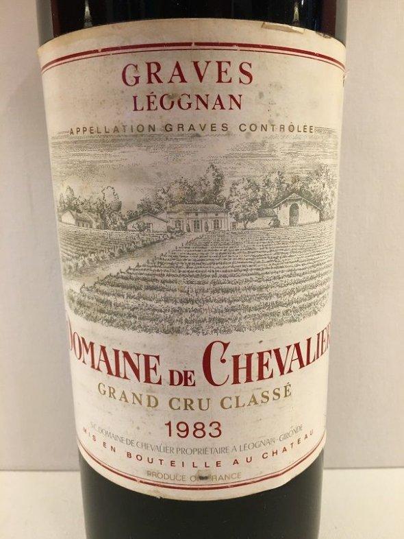 Domaine Chevalier, Bordeaux, Pessac Leognan, France, AOC, Cru Classe magnum