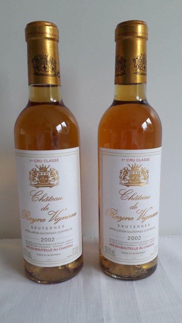 Rayne Vigneau, Bordeaux, Sauternes, France, AOC, 1er Cru Classe