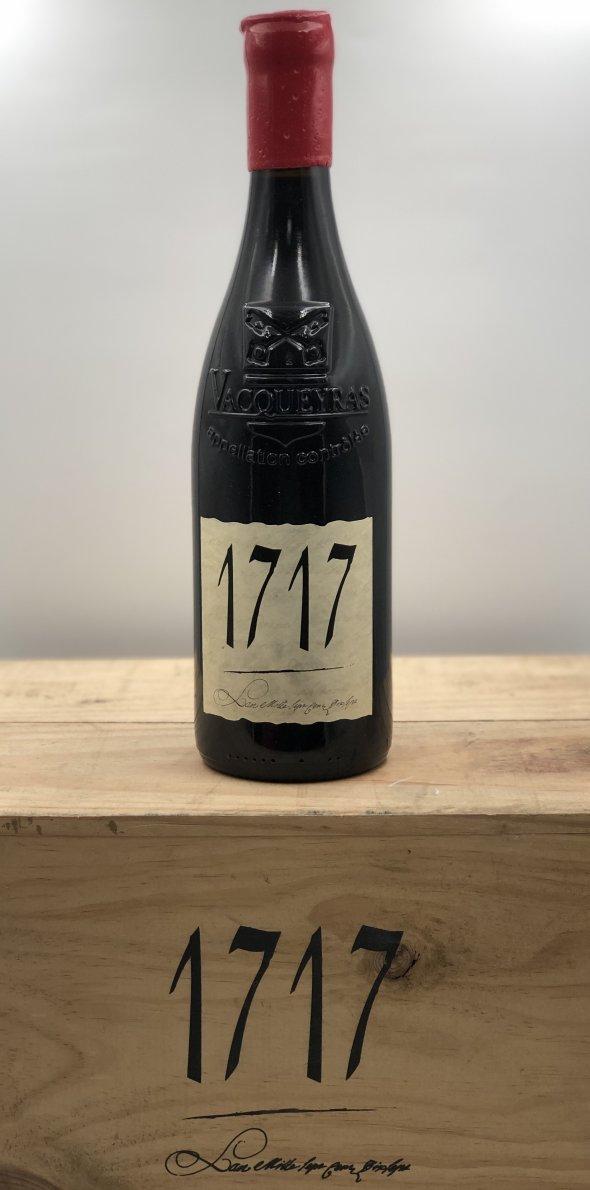 1717 Vacqueyras Grand Cru Vintage 2003. Rhone Red