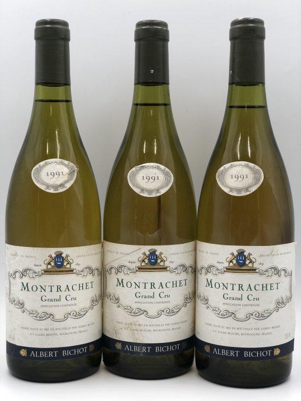 Albert Bichot, Montrachet 1991  Burgundy, Montrachet, France, AOC, Grand Cru