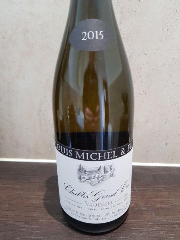 Louis Michel, Chablis Grand Cru, Vaudesir, Burgundy, 2015 - 91 Points