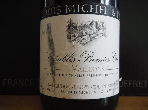 Louis Michel, Chablis Vaillons, Burgundy, Chablis, France, AOC, 1er Cru