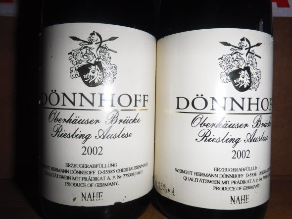 Donnhoff, Oberhauser Brucke Riesling Auslese, Nahe, Germany, Pradikatswein