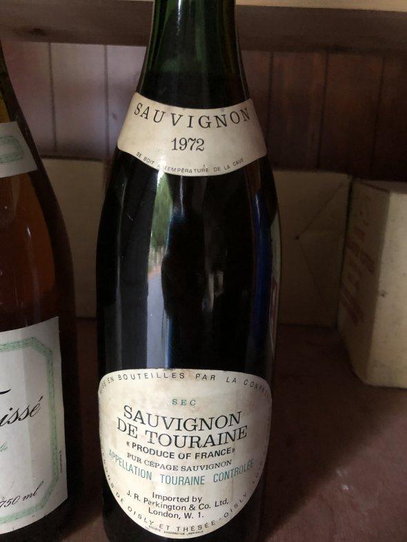 Chanson Pere et Fils. Corbieres 2003. Cotes du Rhone 1994. Pouilly Fussee 1992. Sauvignon de Touraine 1972.