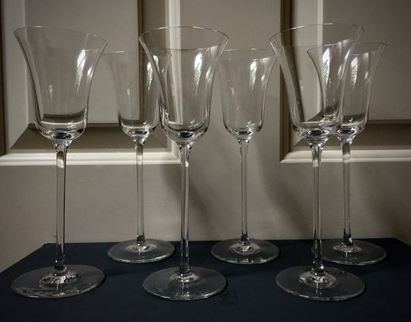 6 Riedel Sommeliers glasses, spirits/aperitif - Hand-made in Austria