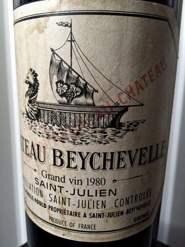 1980 Ch. Beychevelle, Saint Julien, 4eme Cru Classe