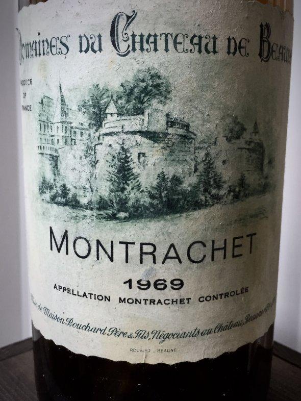 1969 Montrachet Grand Cru - Bouchard Pere et Fils