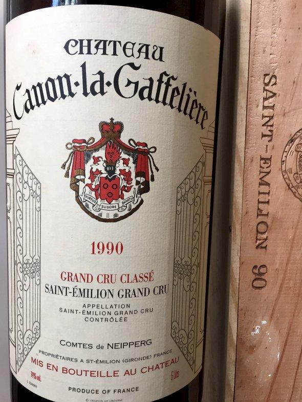 1990 Ch. Canon Gaffeliere - 6L Imperial in OWC, Saint Emilion, 1er Grand Cru Classe B