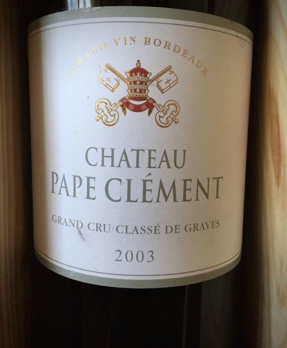2003 Ch. Pape Clement - 6L Imperial in OWC, Pessac Leognan, Cru Classe
