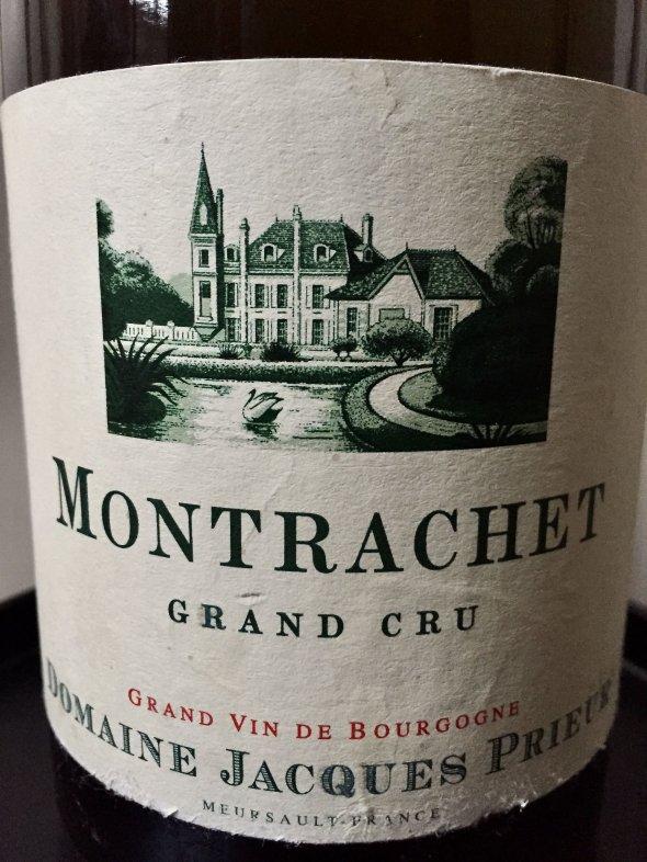 2017 Jacques Prieur, Montrachet Grand Cru, Burgundy