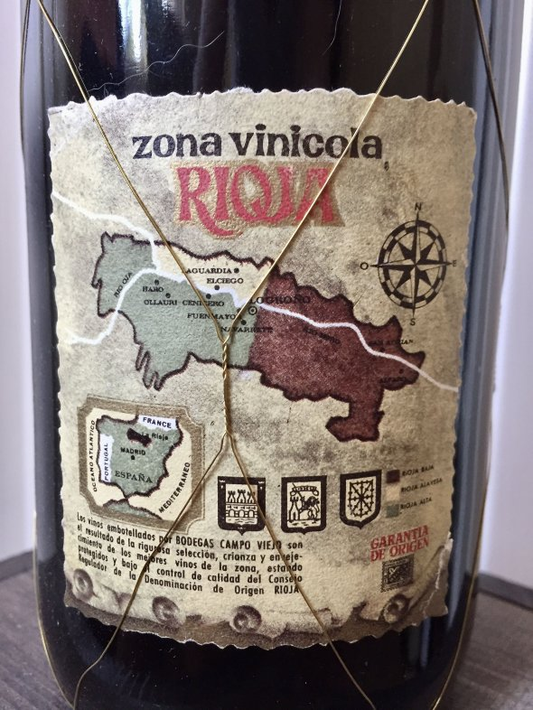 1963 Rioja Crianza