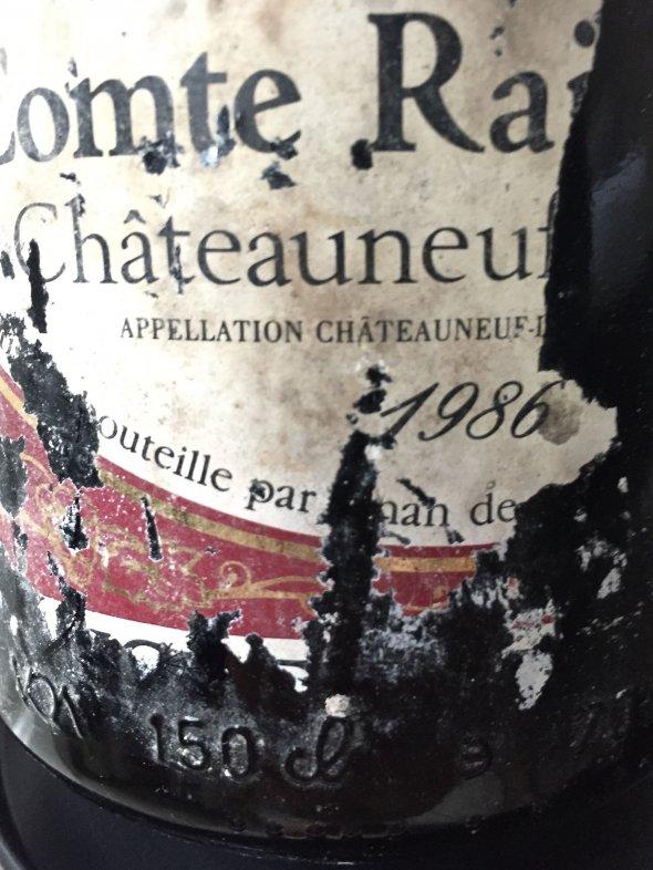 1986 Magnum, Comte Raimbauld Châteauneuf-du-Pape Michel Bernad