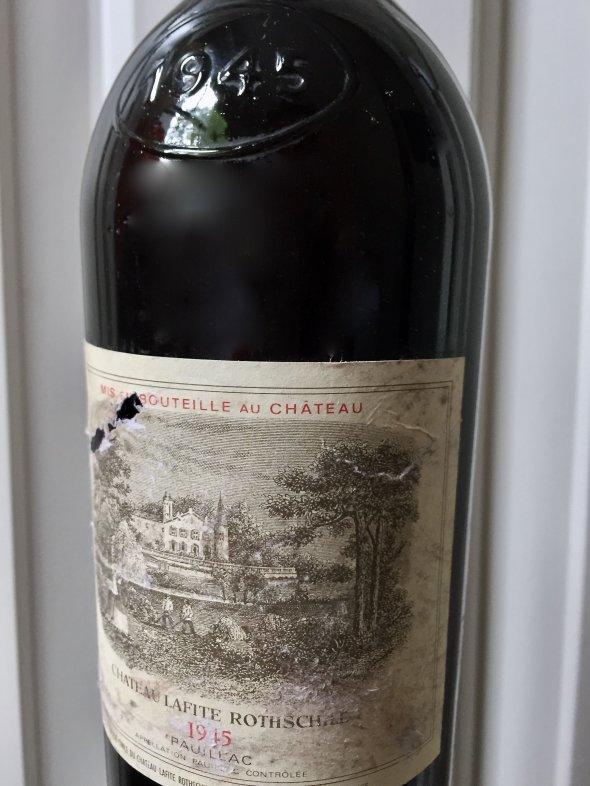 1945 Lafite Rothschild, Pauillac, 1er Cru