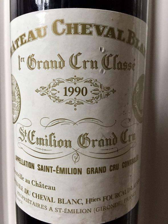 1990 Cheval Blanc, Saint Emilion, 1er Grand Cru Classe A