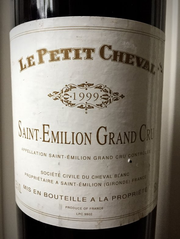 1999 Magnum 1.5L, Petit Cheval (Cheval Blanc), Saint Emilion