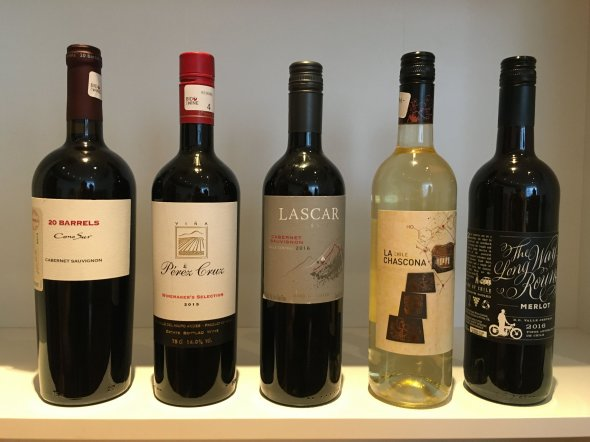 A Collection of Chilean Wines