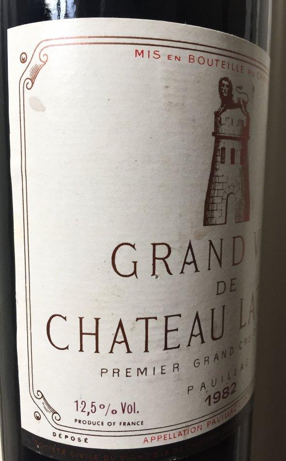 1982 Chateau Latour, Pauillac, 1er Cru