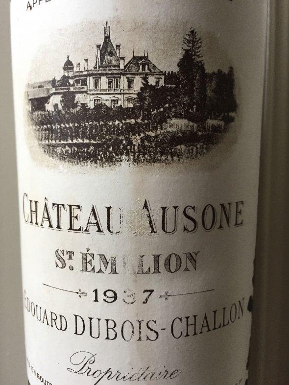 1937 Chateau Ausone, Saint Emilion, 1er Grand Cru Classe A
