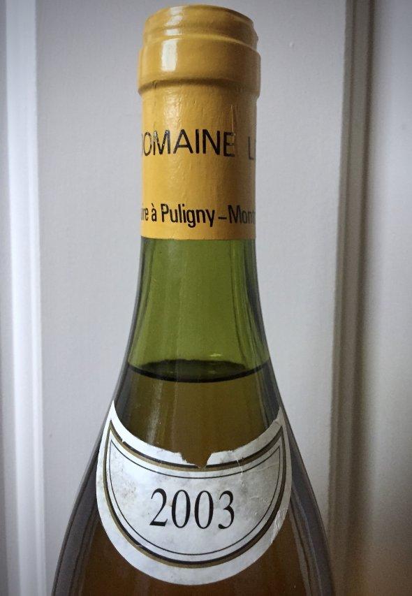 2003 Domaine Leflaive, Chevalier Montrachet Grand Cru, Burgundy