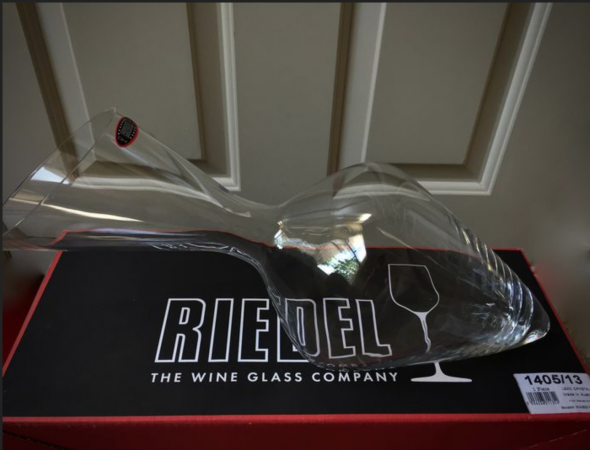 Riedel crystal decanter 'Tyrol' - Hand made in Austria - 1.5L Magnum