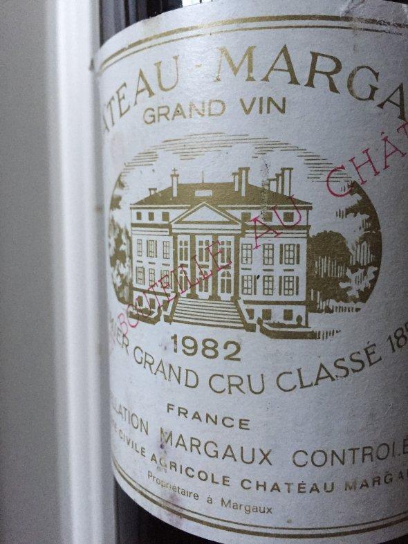 1982 Chateau Margaux