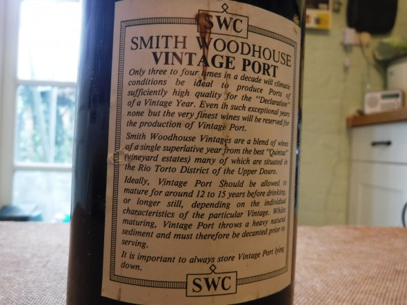 Smith Woodhouse, Port, Portugal, DOC
