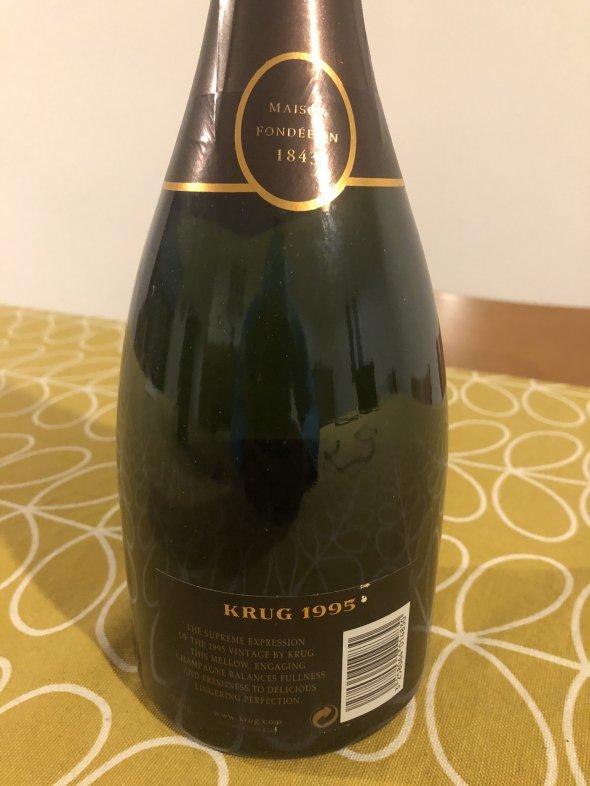 Krug, Vintage Brut, Champagne, France, AOC