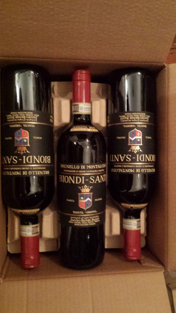 2010 Biondi Santi, Brunello  (95+ points - WA) 1 Bottle