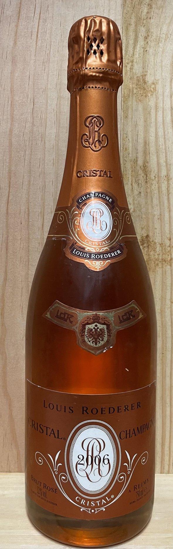 1 bot Krug Rose old released and 1 bot Cristal Rose 2006