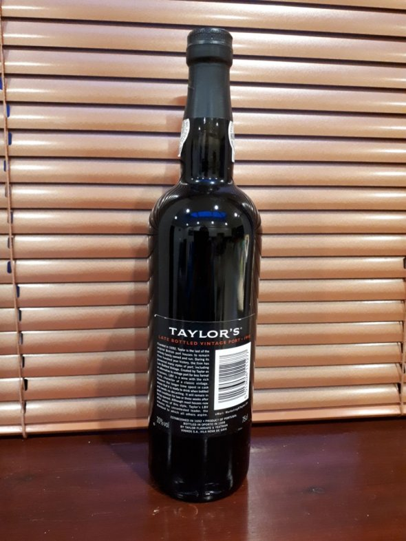 Taylors late bottled Vintage Port 1992