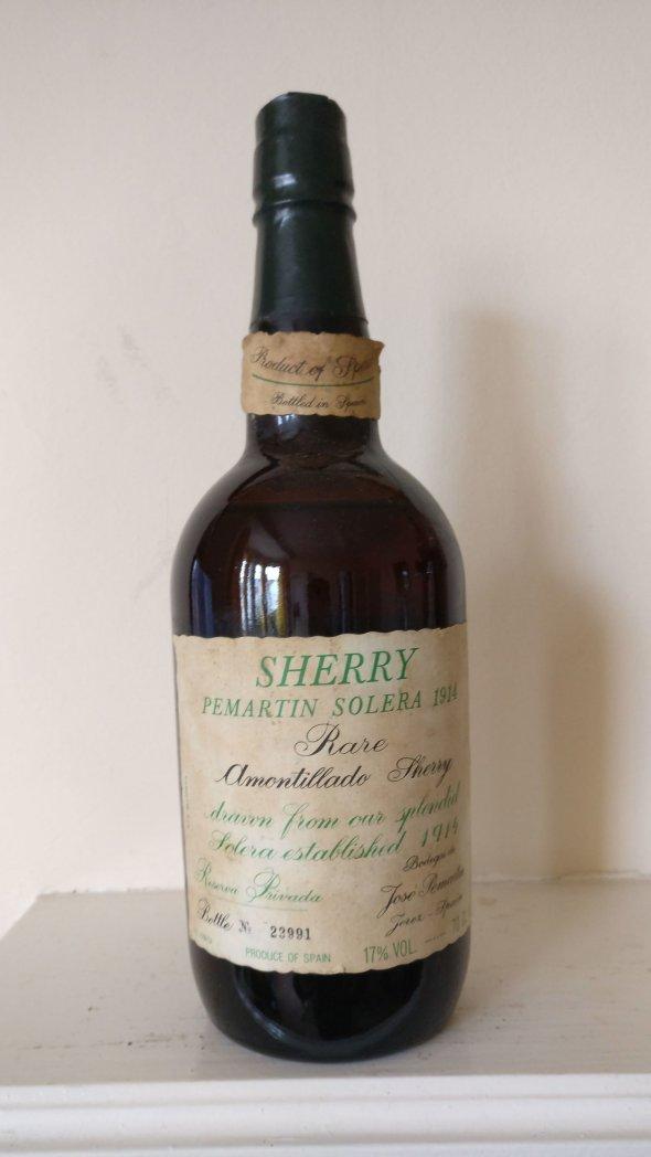 Amontillado Sherry Permartin Solera