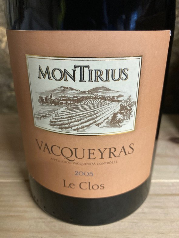 Montirius, Vacqueyras Clos, Rhone, Vacqueyras, France, AOC