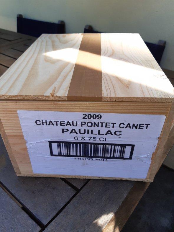 Pontet Canet 2009 x 6 Bottles 100Pts RP.
