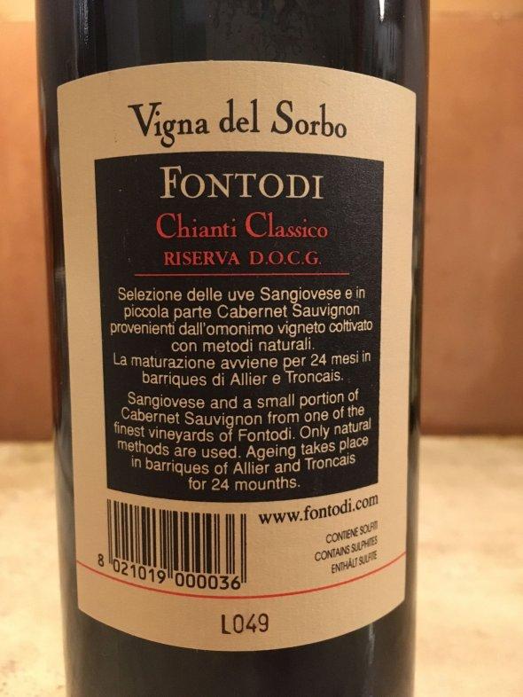 Fontodi, Chianti, Classico Riserva Vigna Del Sorbo