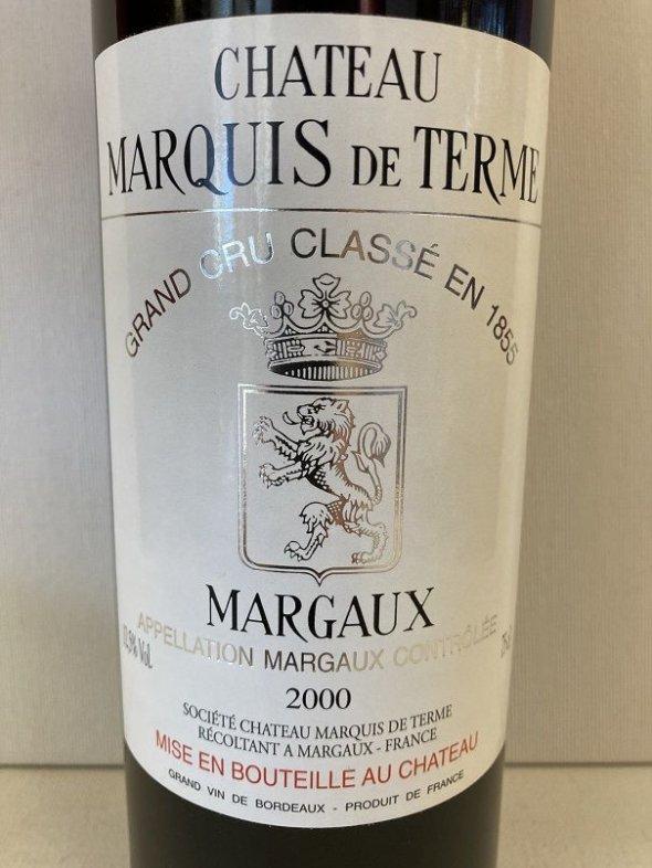 Chateau Marquis de Terme 4eme Cru Classe, Margaux