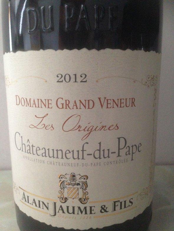 Châteauneuf du Pape Rouge 'Les Origines' Domaine Grand Veneur 2012 MAGNUM