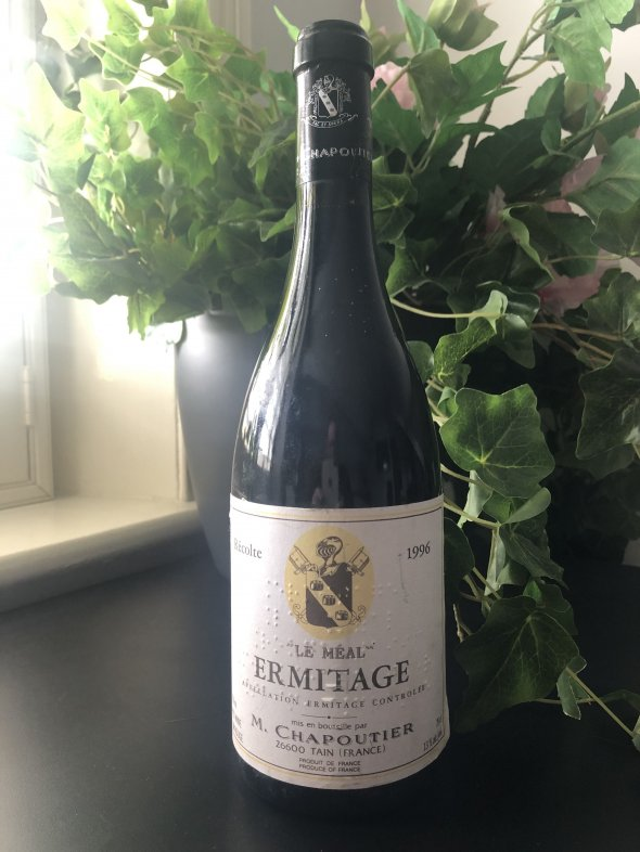M. Chapoutier, Hermitage, Le Meal Rouge