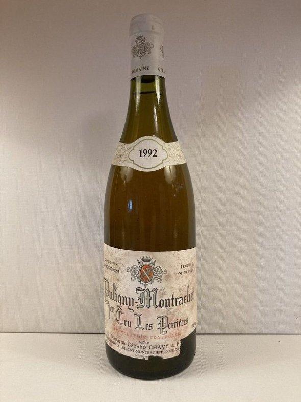 Gerard Chavy, Puligny-Montrachet Premier Cru, Les Perrieres