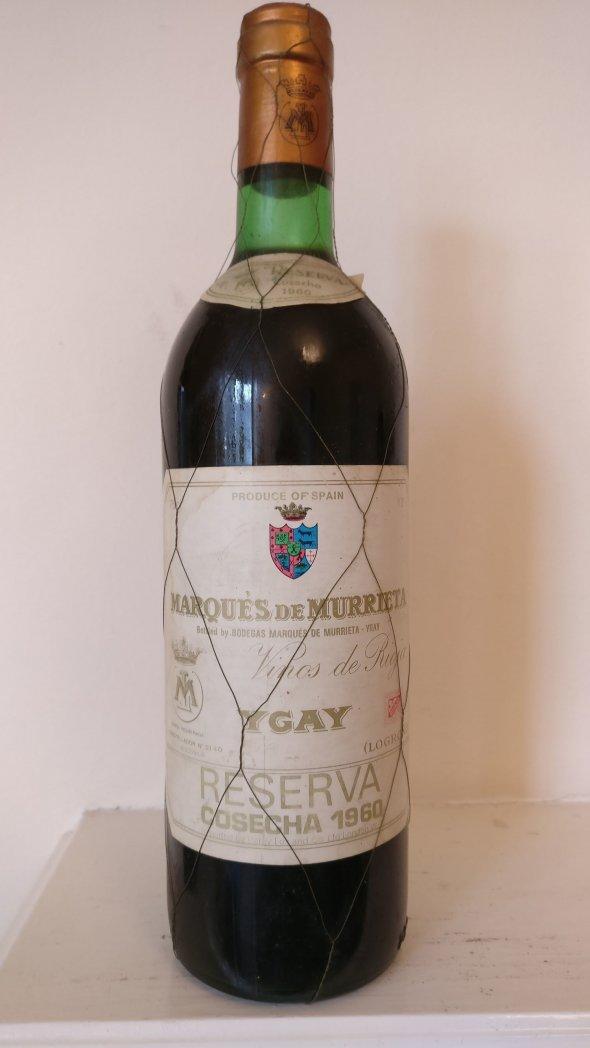 Marques de Murrieta, Ygay Gran Reserva, Rioja