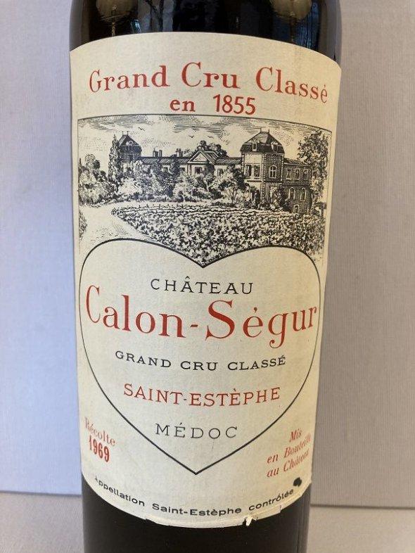 Chateau Calon Segur 3eme Cru Classe, Saint-Estephe