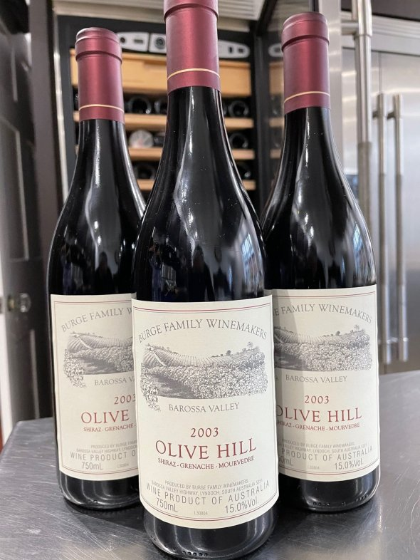 Burge Family Winemakers, Olive Hill Shiraz Grenache Mourvedre, Barossa Valley
