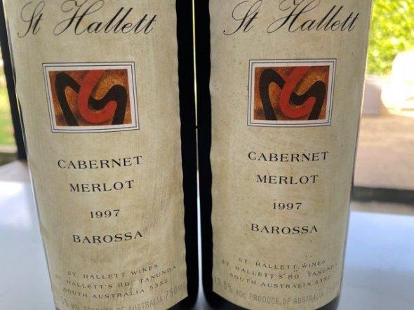 St Hallett Cabernet Merlot 1997