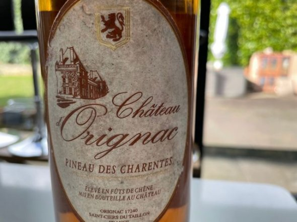Pineau des Charentes, Château d'Orignac