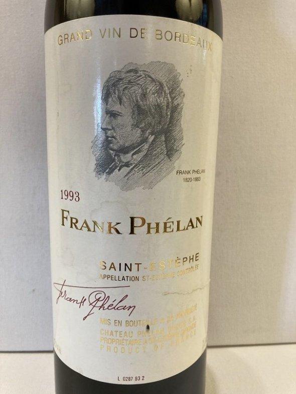 Frank Phelan, Saint-Estephe