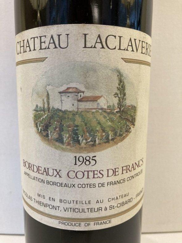 Chateau Laclaverie, Francs-Cotes de Bordeaux