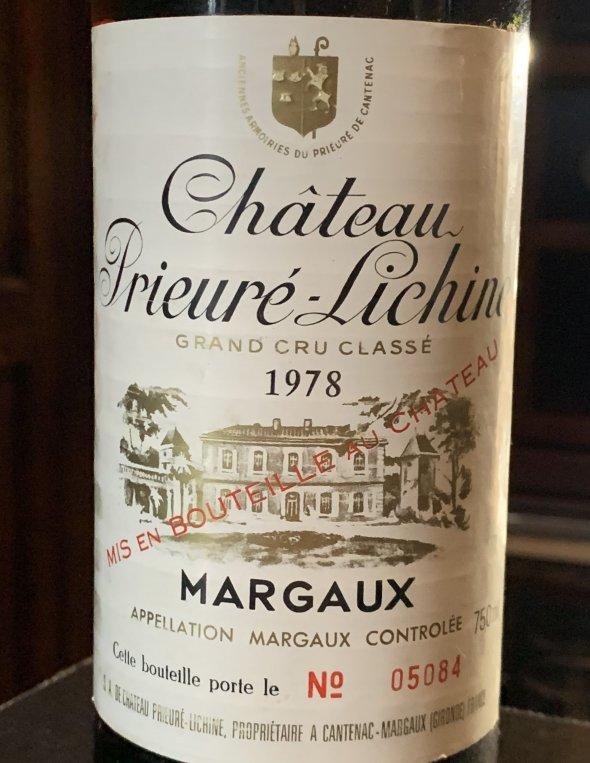 Chateau Prieure-Lichine 4eme Cru Classe, Margaux